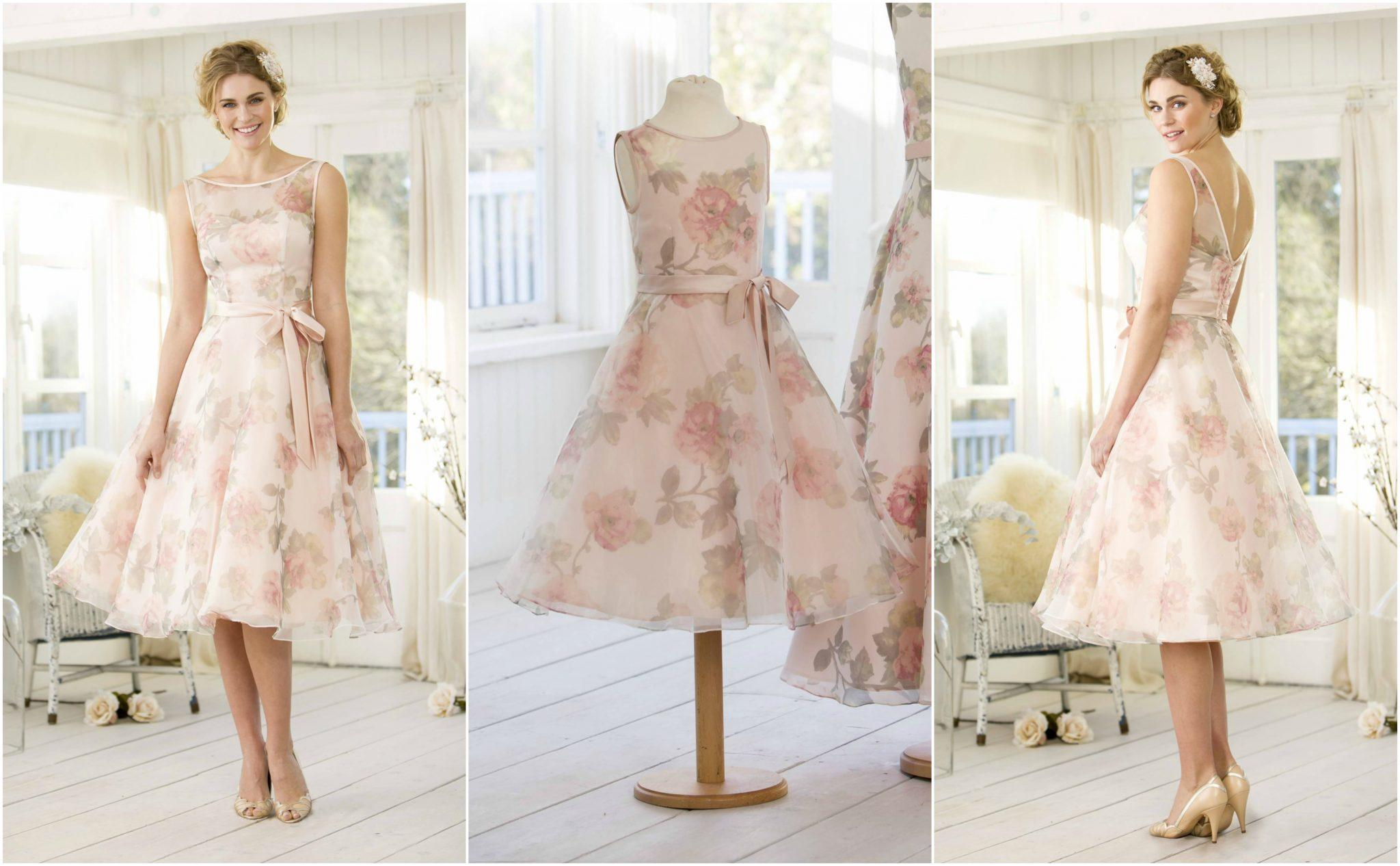 Now in Stock True Bridesmaids sassy little floral tea length